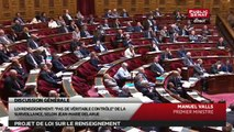 Discours de Manuel Valls, Philippe Bas et Jean-Pierre Raffarin - En séance