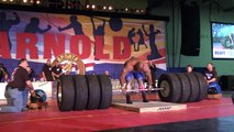 World Record Deadlift 1128 pounds- World's Strongest man