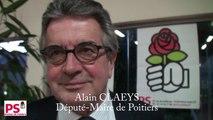Congrès de Poitiers - Interview de M. Alain Claeys, Député-Maire.