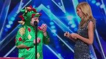 Americas Got Talent 2015 S10E01 Piff The Magic Dragon Hilarious Magician