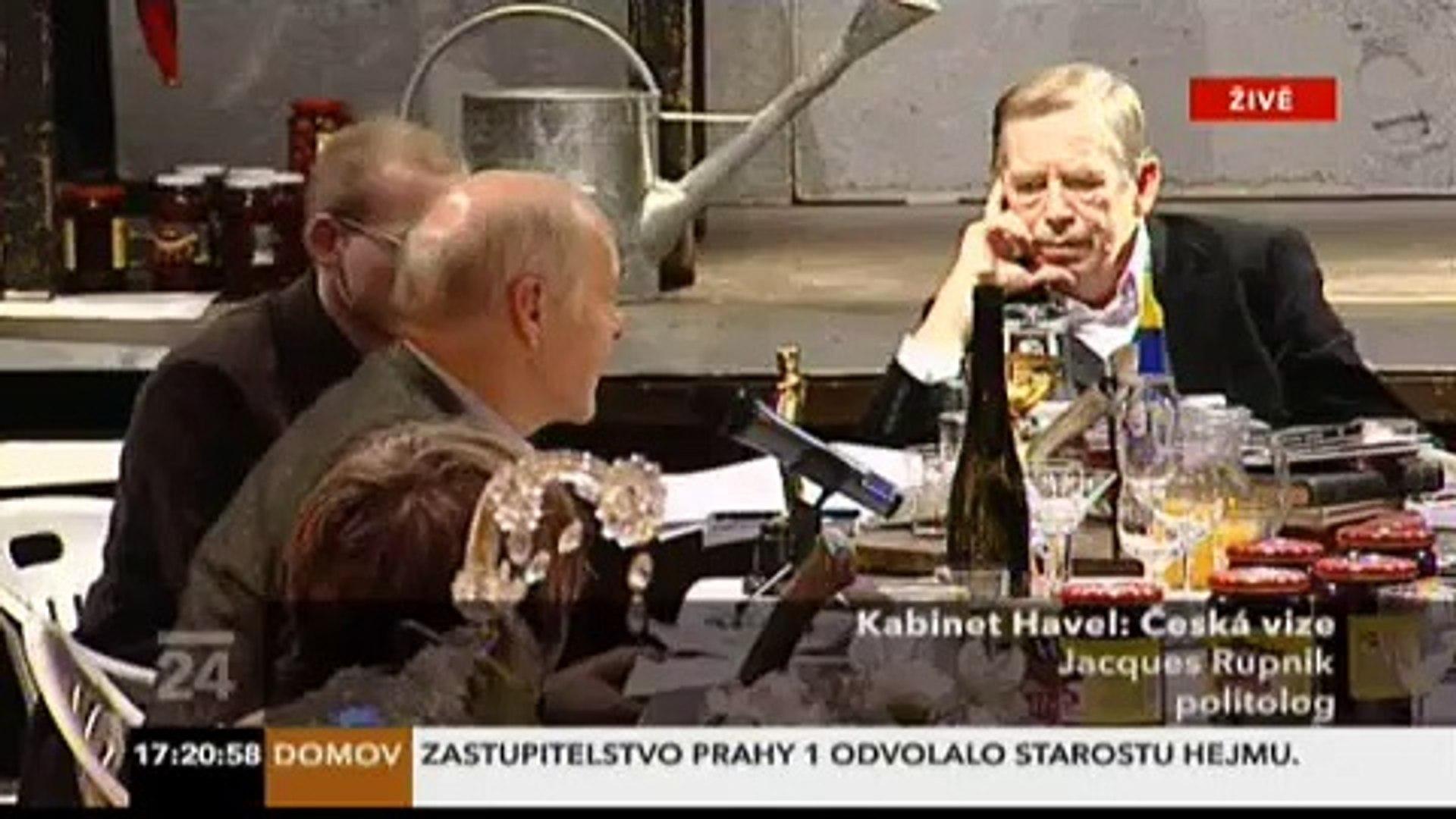 Kabinet Havel - Vize budoucnosti v ČR - část 6