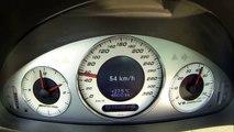Mercedes E55 AMG W211 Acceleration Sound