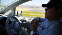Nissan Leaf Autonomous Drive Demo