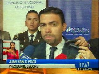 Galo Chiriboga actualizó cifras de los procesos en la Fiscalía