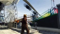 GTA 5: MASSIVE CARGO PLAN ON FERRIS WHEEL! Best GTA5 Stunts! (gta 5 best stunt gameplay)