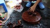 Lucky Tropical Fish Farm discus food beefheart preparation