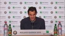 """Roland Garros - Roger Federer: """"Stan jugó un gran tenis"""""""