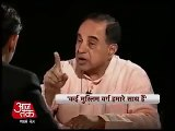 Divide Muslims & Rule India: Self Exposed Subramanian Swamy: Danger Alarm For United India