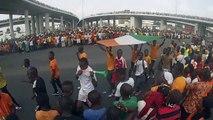 CAN 2015 - Côte d'Ivoire - Retour des Éléphants à Abidjan - 9 Février 2015