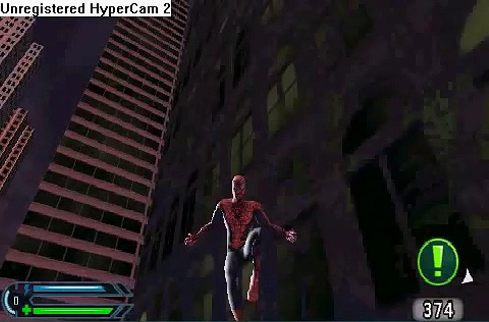 spiderman 3 psp gameplay