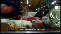 euronews question for europe - European Year of Volunteering