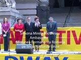 """New York. 2 Mai 2009. Festivalul Romaniei Romaniei 2009. """"Ziua Romaniei 2009"""" La Cea de a Xa Editie pe Broadway New York."""