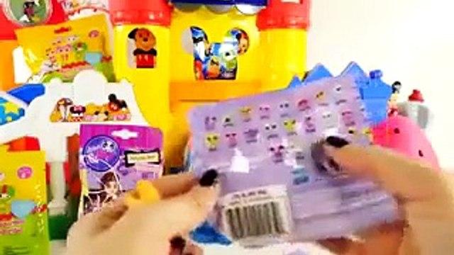 HUGE SHOPKINS Play Doh Eggs Disney Wikkeez Lalaloopsy Peppa Pig LPS Surprise Blind Bag Toys DCTC 4