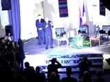 Pocetak govora predsednika Basescu-a,  Începe discursul presedintelui Basescu