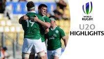 HIGHLIGHTS! Ireland 18-16 Argentina World Rugby U20s