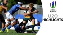 HIGHLIGHTS! Australia 34-22 Samoa at World Rugby U20s