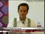 Alejandro Poiré ofrece disculpas a Inés Fernández