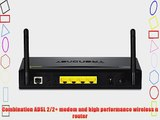 TRENDnet Wireless N 300 Mbps ADSL 2/2  Modem Router TEW-658BRM