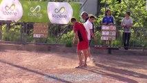 Huitièmes de finale, championnat de France de combiné Jeunes, Sport Boules, Langogne 2015