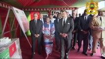 أبيدجان،2 يونيو 2015 /جلالة الملك بأبيدجان على تسليم هبة عبارة عن طنين من الأدوية لفائدة البرنامج الإيفواري لمحاربة السي