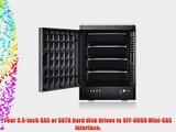 Sans Digital TowerRAID TR4X B 4-Bay SAS/SATA JBOD PCI RAID External Hard Drive Enclosure (Black)