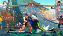 Test vidéo - Ultra Street Fighter IV (Version PS4 Ultimate Bug !)
