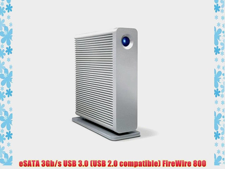 2 eSATA USB 3.0, LaCie d2 Quadra V3 4TB External Hard Drive FireWire 800