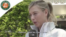 Cinq grands moments à Roland-Garros pour Sharapova