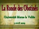La ronde infinie des obstinés - Université Marne la Vallée 3 avril 2009
