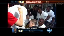 NFL Draft-  B.J. Raji Drafted By the Green Bay Packers