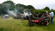 Lappa Valley Steam Railway ~ Miniature Traction Engine Rally Mass Whistle Blowing
