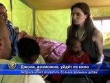 Анджелина Джоли готова уйти из кино ради детей
