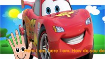 Finger Family Collection cars toon cars 2 Cartoon Animation Daddy Finger Nursery Rhymes For Children