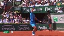 Roland Garros : Le superbe échange entre Novak Djokovic et Rafael Nadal
