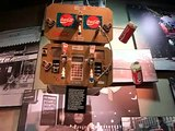 Coca Cola vintage vending machines.  Coca-Cola Museum Atlanta - 1