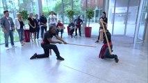 GAME TIME démonstration de Tahtib avec la troupe de Adel Paul Boulad.