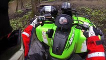 Mudding on Yamaha Grizzly 700 and Arctic Cat Mud Pro 700