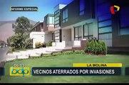 Vecinos aterrados por invasiones en cerros: familias temen ser víctimas de robos