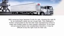 large japanese truck: Models of Large Japanese Trucks