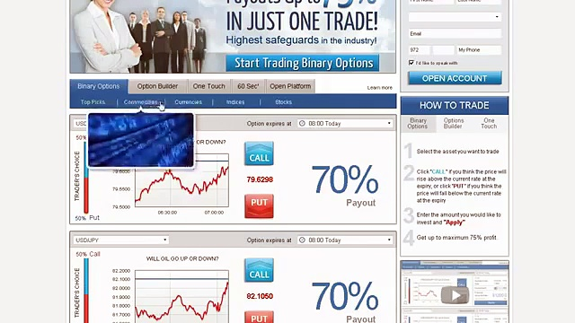 Japanese Binary Options Trading Websites i.e. Plus500, 24Option, Banc de Binary, GOptions