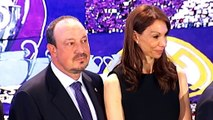 Real Madrid - Les larmes de Benitez lors de sa présentation