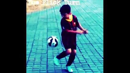 The Flick Turn - Learn Amazing Soccer /Football / Futsal Skills & Tricks  * Neymar * Messi * Ronaldo