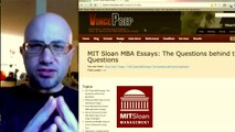 Discuss how you will contribute to MIT Sloan MBA based on examples of past work and activities