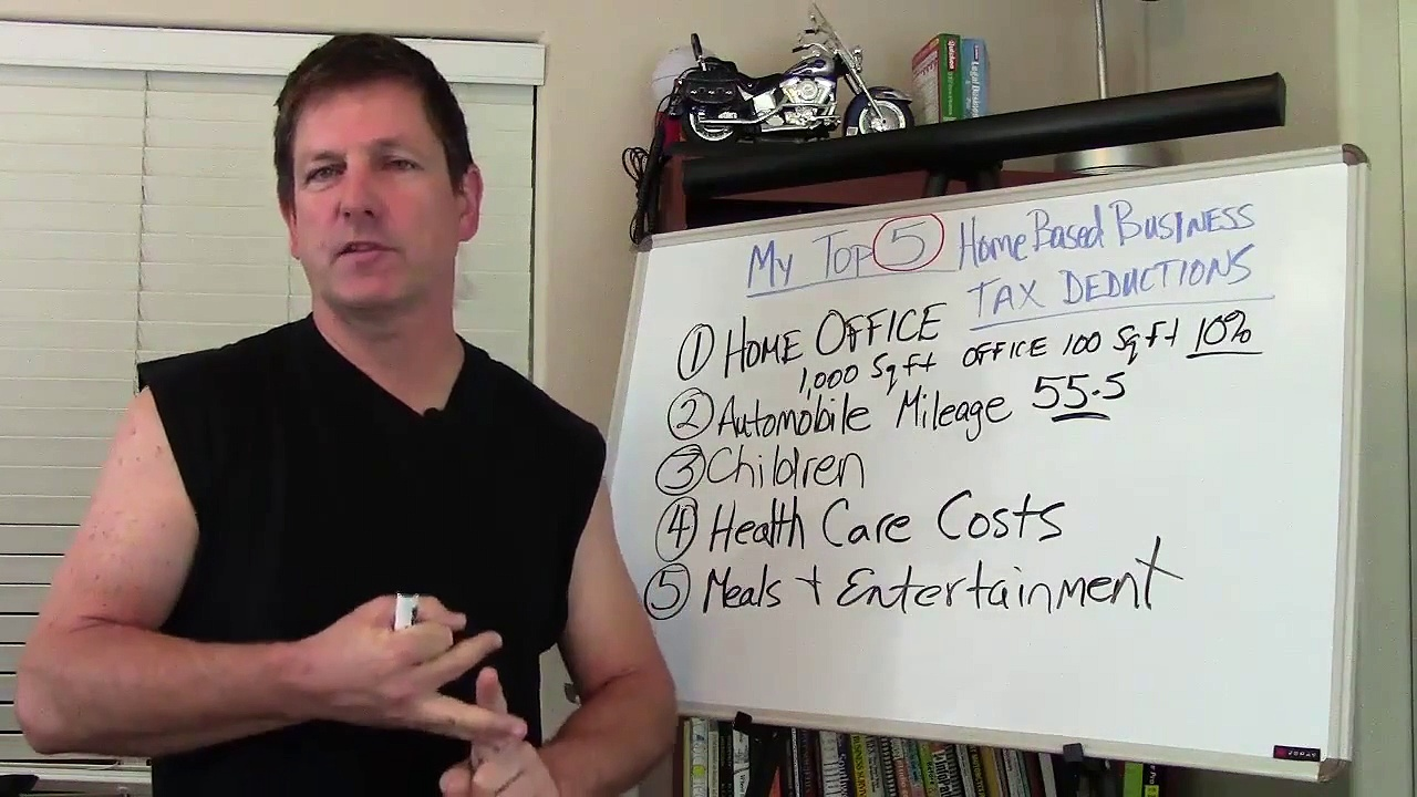 Home Based Business | Top 5 Home Business Tax Deductions