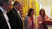 Ségolène Royal rencontre les scientifiques du Muséum national d'Histoire naturelle