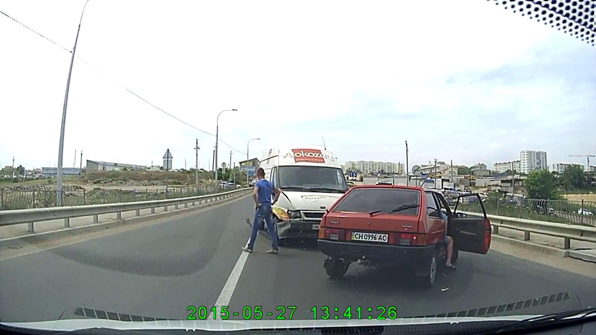 Авария (ДТП) на 5 км Севастополь 27.05.2015 в 13_40