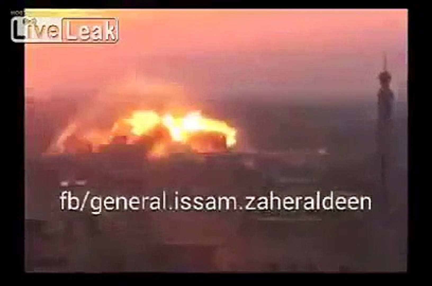 LiveLeak com Syrian army releases a video of the Siyasiyeh bridge being  blown up - video dailymotion
