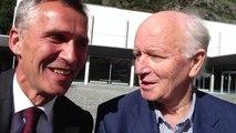 Et slags intervju med Jens og Thorvald Stoltenberg