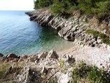 Strände und Buchten in Kroatien - Istrien - Drenje - Ravni - Urlaub in Istrien