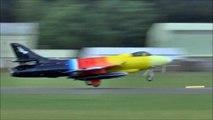 Hawker Hunter fast jet fighter   Miss Demeanour